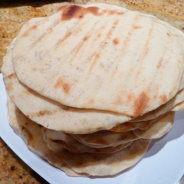 Homemade Grilled Flatbread