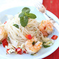 Rice Noodle Salad with Endive, Shrimp & Soy-Ginger Dressing Recipe