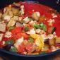 Eggplant, Peppers, Mushrooms and Olives Italian Sauce Recipe