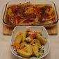 Jamie Oliver's Piri Piri Chicken and Cilantro Feta Potatoes