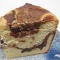 Chocolate swirled poundcake