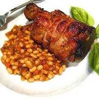 Pork Osso Bucco w/ White Beans, YUM!