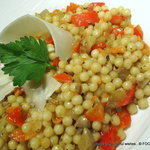 Vegetable 'Israeli' COUSCOUS risotto