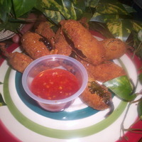 Crispy Triple Cheese n' Chorizo Jalepeno Poppers