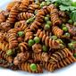 Pesto Rotini with Peas and Sausage