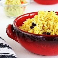 Baked Rice & Beans ~ A Guest Post by Roxana | For An Epicure's Voyage Series