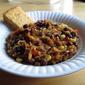 Black Bean & Spaghetti Squash Casserole