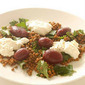 warm lentil salad with beets & ricotta
