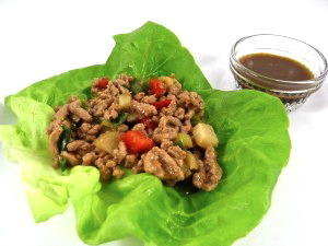 Low Carb Chicken Lettuce Wraps…Just like In Your Favorite Asian Restaurant