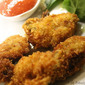 Crispy Panko Coated Fried Oysters with Easy Homemade Cocktail Sauce