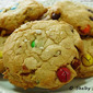 Browned Butter M&M and Pecan Cookies with Grey Sea Salt