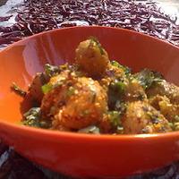 Gurkhali Aloo-Potatoes, Gurka Style.
