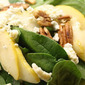 Thank you O Olive Oil....Pear and Spinach Salad with Blue Cheese and Pecans