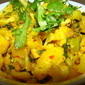 Aloo Gobi-Cauliflower and Potatoes-Indian Style
