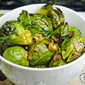 Garlic and Ginger Brussels Sprouts