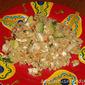 Greek Lemon Chicken and Zucchini Couscous