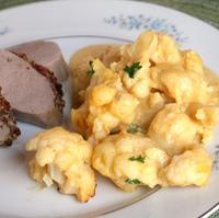 Mac and Cheese Style Cauliflower