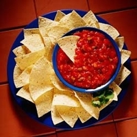 fresh authentic salsa