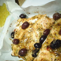 Dijon Maple syrup and Olive Salmon fillets