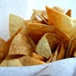 Fresh homade tortilla chips restaurant style