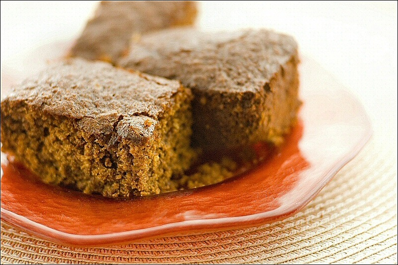 Ginger Cake With Treacle And Golden Syrup
