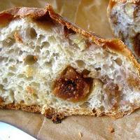 First Born: Fig & Walnut (No Knead) Bread