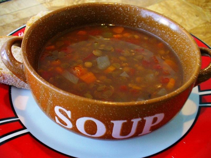Crock Pot Lentil Soup
