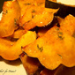 Roasted Acorn Squash with Honey and Thyme