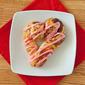 Heart Shaped Cinnamon Rolls