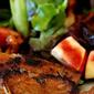 Pork Chop with Apple Salad