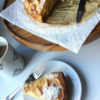 Apple Sharlotka (Russian Apple Cake)