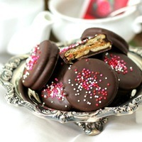 Chocolate Covered Peanut Butter Crackers