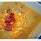 Baked Potato and Corn Chowder with Bacon