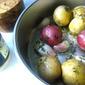 Winter Roasted Potato Salad w/ Garlic & Herbs