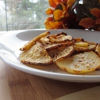 "Cajun-Roasted Root ""Chips"""