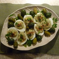 Tuna Stuffed Eggs