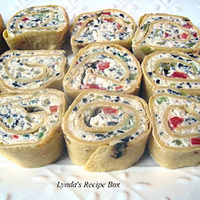 Tortilla Pinwheel Appetizers