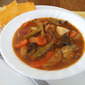 Steak and Fresh Vegetable Soup