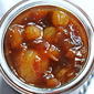 Ginger fruit compote: a recipe