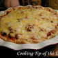 Recipe: Cheesy Sausage Pie