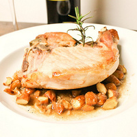 Pork Chops in the Style of Jerez Paired with Delicious, Free Rioja from Campo Viejo