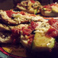 Lemon Chicken and Zucchini Parmesan Sandwich!!!