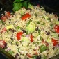 Mexican Brown Rice, Quinoa and Black Bean Salad