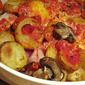 Trusty Tomato Potato Bake