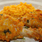 Cornflake Crusted Baked Chicken Legs