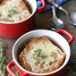 French Onion & Endive Soup Recipe with Pancetta