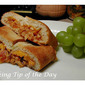 Recipe: BBQ Chicken Cheddar and Bacon Stromboli