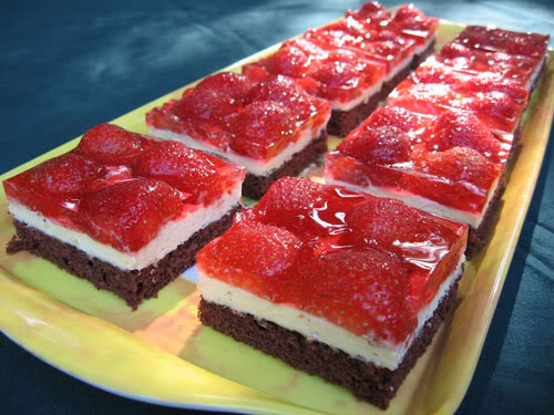 Cakes slices recipes