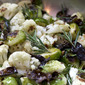 rosemary roasted brussels sprouts & cauliflower (and Liebster awards!)