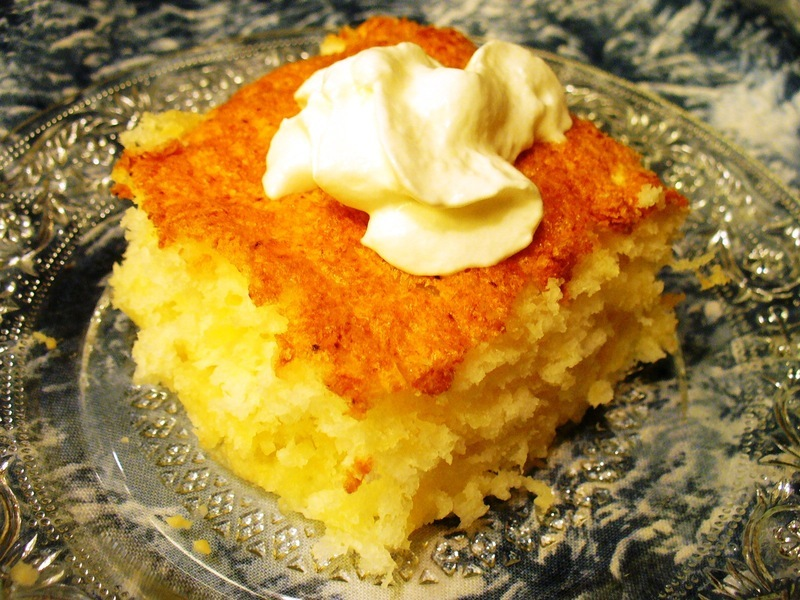 Easy Dump Cake: Angel Food Pineapple Cake